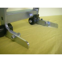Extension of the support arms for BMW R nineT Lifter