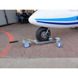 Ultra Mover the manovering aid dolly for you microlightning plane